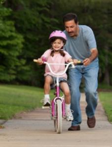 Imparare a pedalare dal Padre