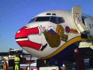 Babbo Natale morto